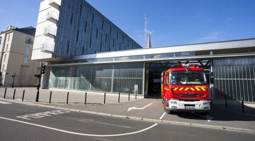 Réhabilitation de la caserne des pompiers Nantes