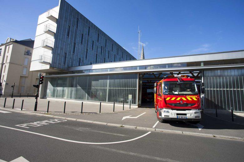Réhabilitation caserne pompiers Nantes