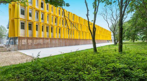 Hub Créatic : bâtiment dédié aux entreprises du numérique