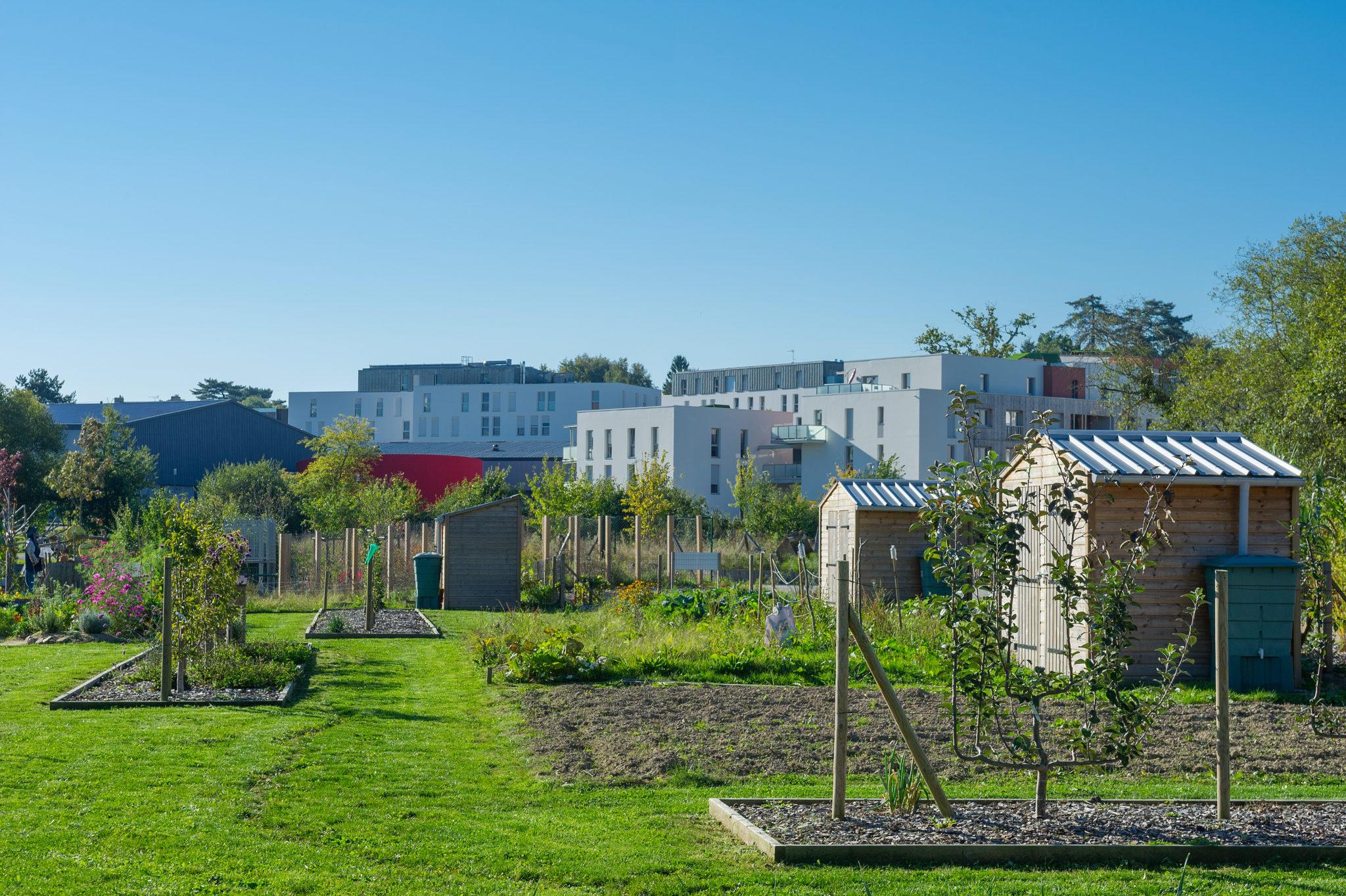 Jardins partagés nantes métropole aménagement