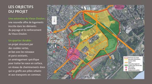 projet urbain Doulon Gohards