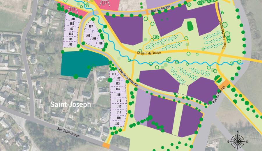 Nouvelle offre de terrains à bâtir au Vallon des Garettes ! - Nantes  Métropole Aménagement