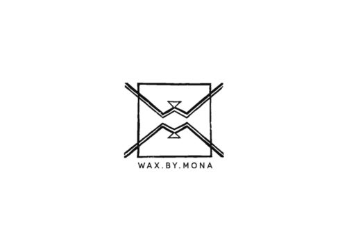 Logo Wax By Mona