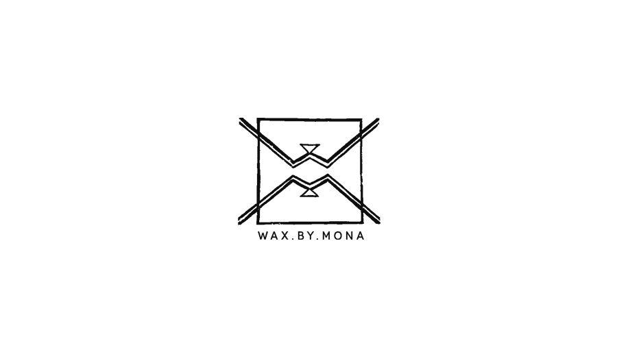 Logo Wax By Mona