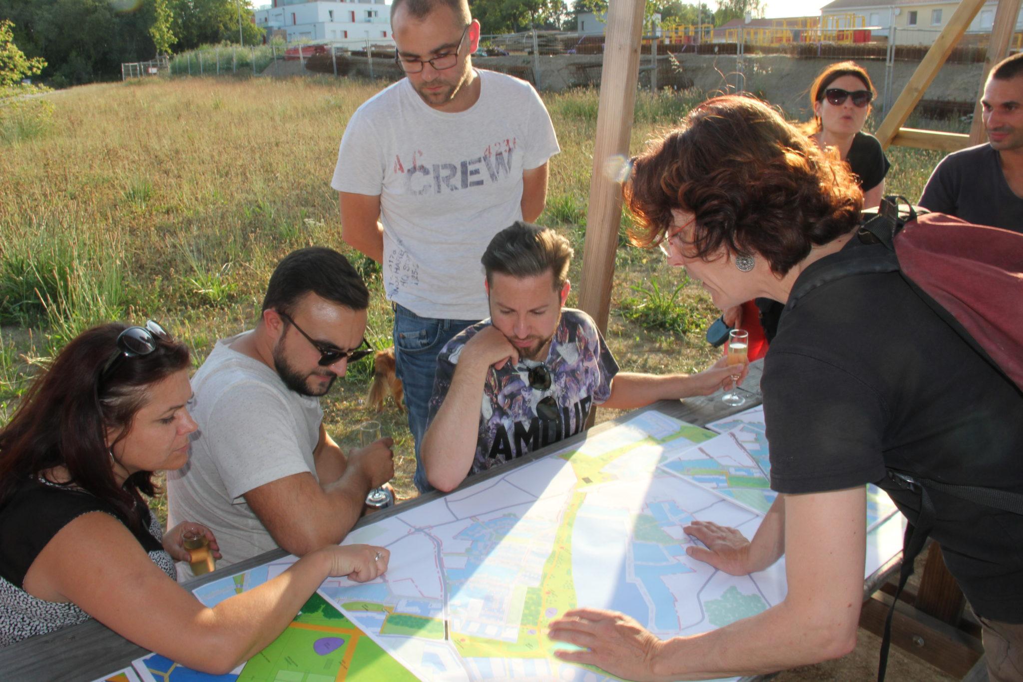 L'agence Phytolab présente le projet de parc sur Les Vignes
