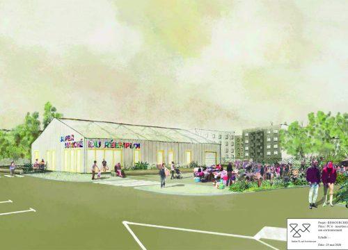 Le futur supermarché du réemploi - © Atelier Fil