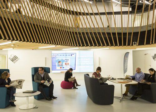 Le Hub Créatic, pôle nantais du numérique