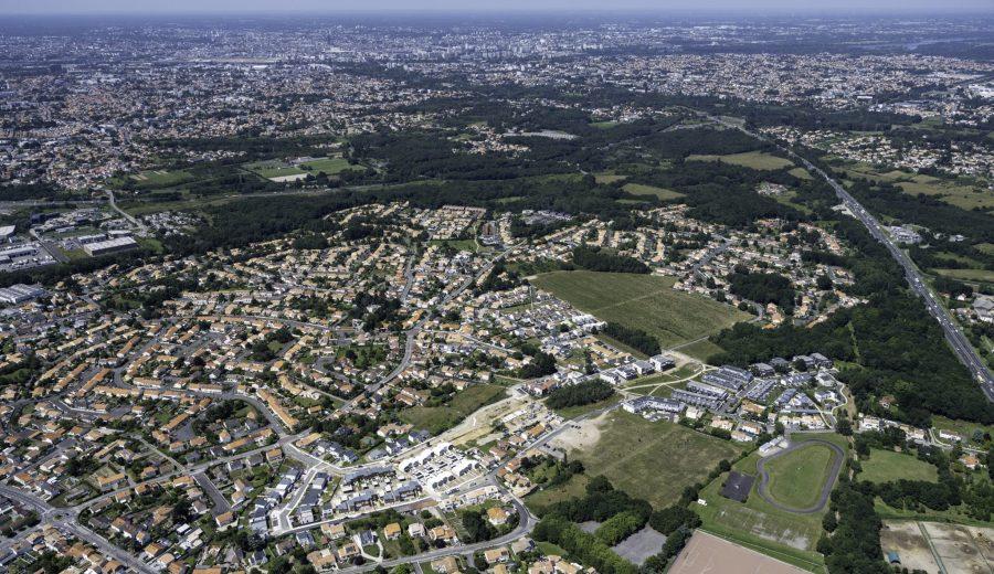 ZAC des Vignes, vue du ciel @ Valéry Joncheray